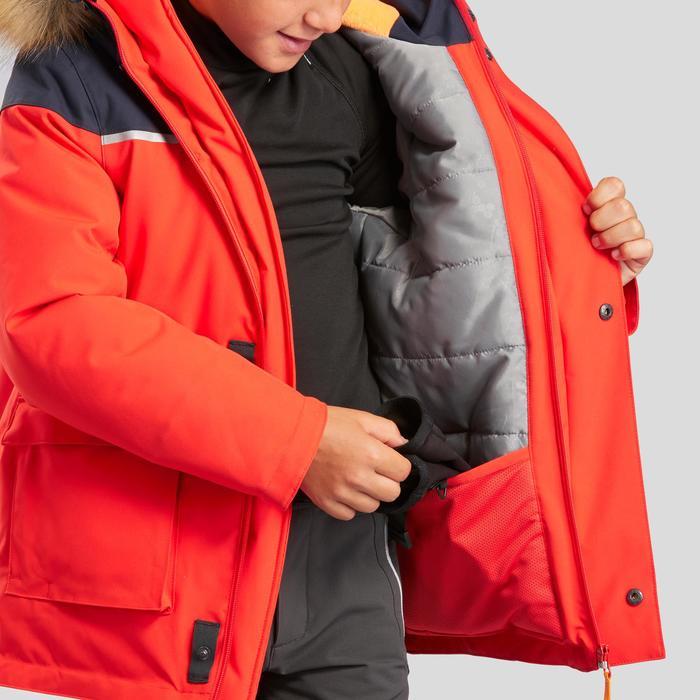 Jongensparka sneeuwwandelen SH500 U-Warm 7-15 jaar rood