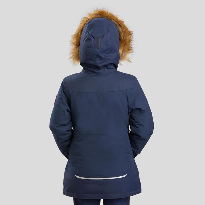 Girl's Warm Waterproof Snow Hiking Jacket Kid SH500 U-Warm Age 7-15