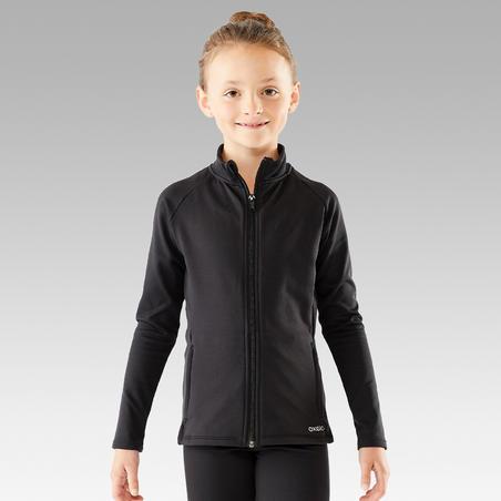 Kids' Figure Skating Jacket - Black
