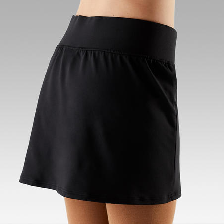 Kids' Figure Skating Skirt - Black