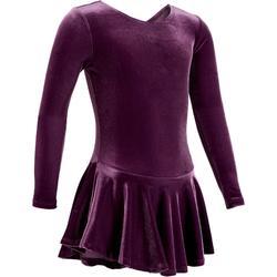 Trainingskleid Eiskunstlauf Kinder violett