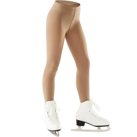 Kids' Figure Skating Tights with Feet