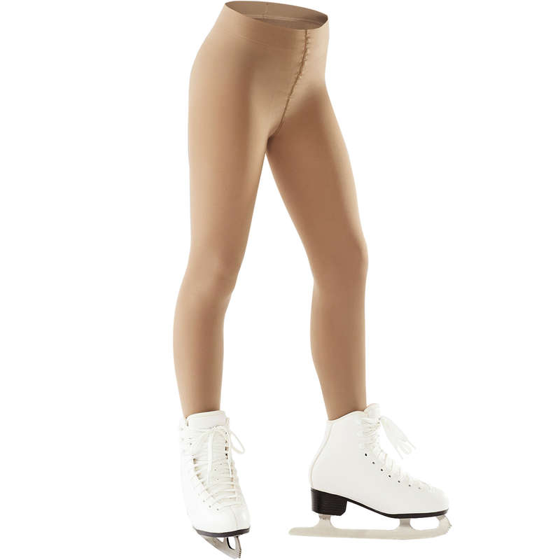 JR FIGURE SKATING CLOTHES Ice Skating - Figure Skating Tights OXELO - Ice Skating