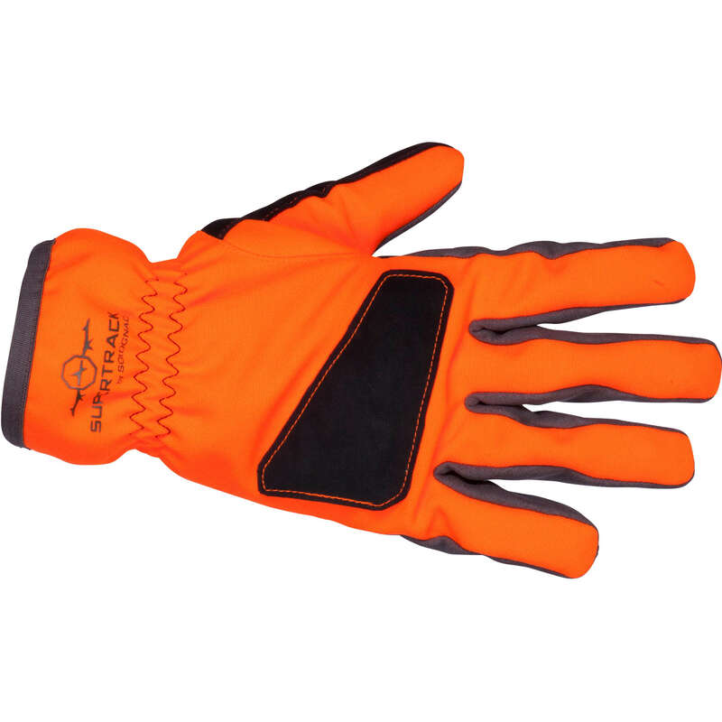 HIGH VIS ACCESSORIES Shooting and Hunting - Supertrack 500 Waterproof hunting Gloves - Fluo SOLOGNAC - Hunting and Shooting Clothing