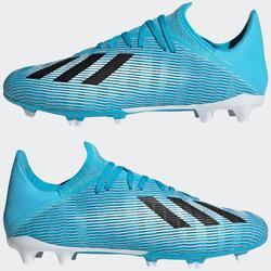 Fussballschuhe Nocken X 19.3 FG Erwachsene blau