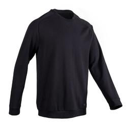 500 Pilates and Gentle Gym Sweatshirt - Black