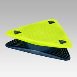 Délimiteur de terrain Essential jaune et bleu