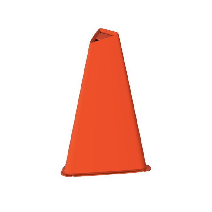 Lot de 4 cônes Essential 30 cm orange