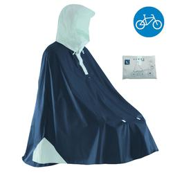 PONCHO IMPERMEABLE CICLISMO 500 AZUL OSCURO