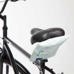 Regenponcho fiets 500 petrolblauw