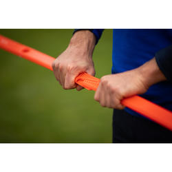 Lot de 2 jalons d'entraînement de football 90cm Modular orange