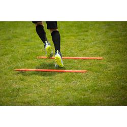 Set van 2 slalomstokken voor de voetbaltraining Modular 90 cm oranje