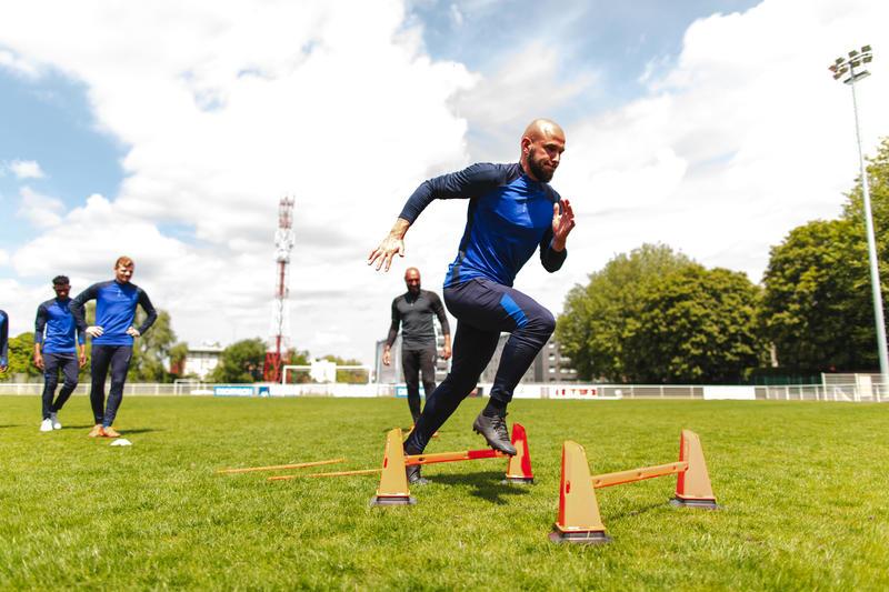 30cm Modular Cones 4-Pack For Football Training - Orange