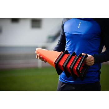30cm Modular Cones for Training 4-Pack - Orange