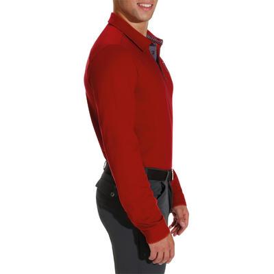 חולצת רכיבה עם שרוולים ארוכים - אדום