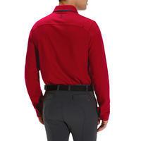 Blason Long-Sleeved Horse Riding Polo - Red