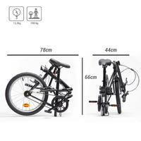 Складаний велосипед Tilt 100 - Чорний