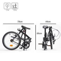 Tilt 100 Folding Bike - Black