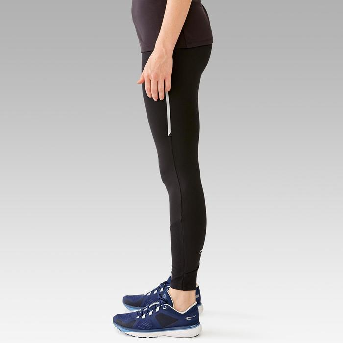 Hardloopbroek voor dames Run Warm zwart