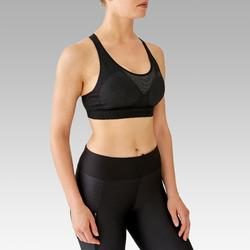 BRASSIERE RUNNING CLASSIC MOUSSEE NOIR
