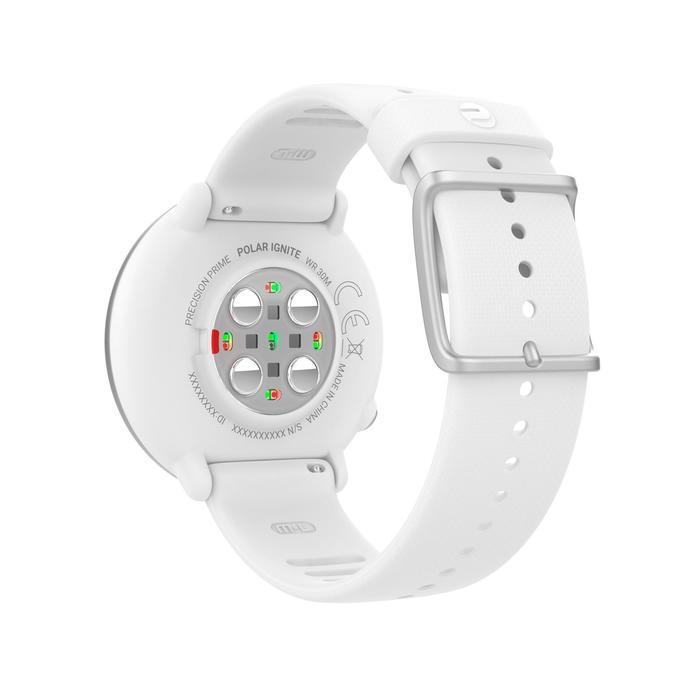 Montre GPS avec cardio au poignet IGNITE blanche
