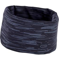 Running neck warmer - mottled black