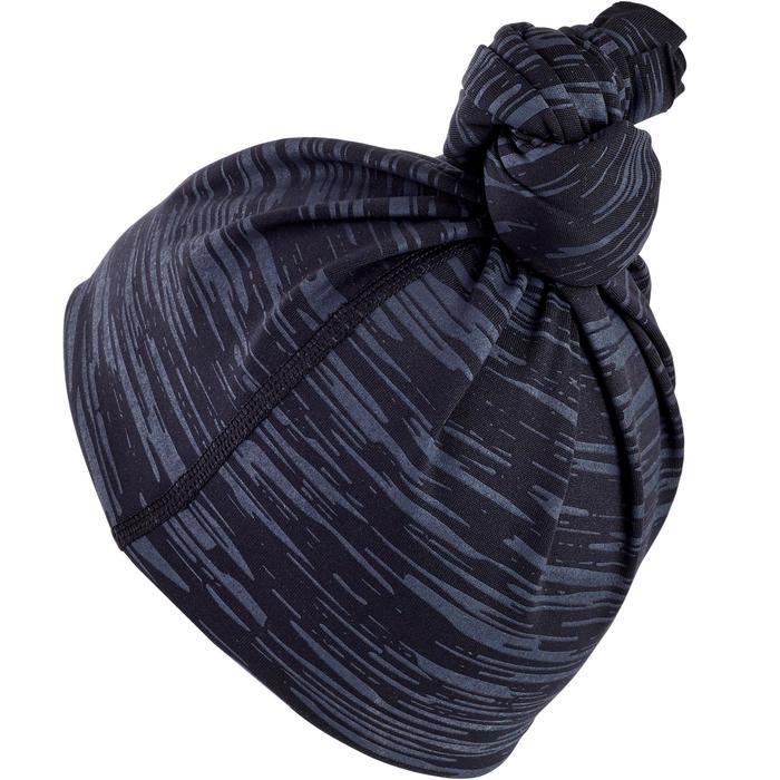 Multifunktionstuch Schlauchschal Laufen schwarz meliert