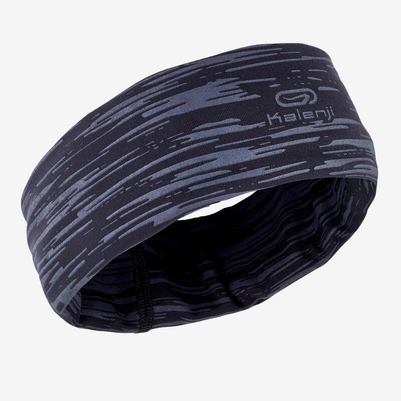 RUNNING NECK WARMER - MOTTLED BLACK