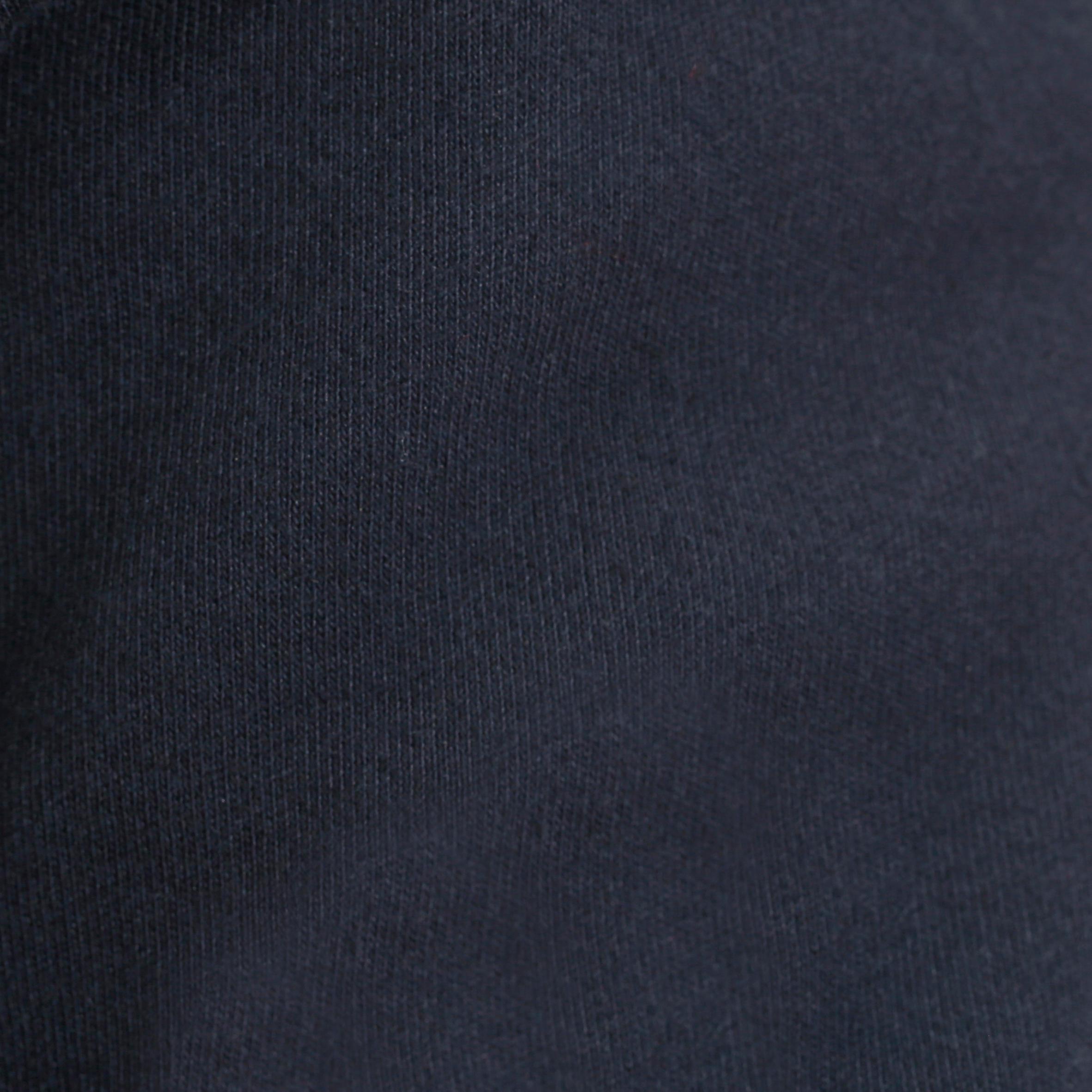 Polo manches longues équitation homme BLASON bleu marine