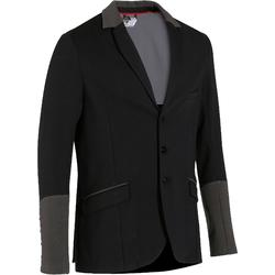 COMP100 Horse Riding Competition Jacket - Black/Grey Sleeves