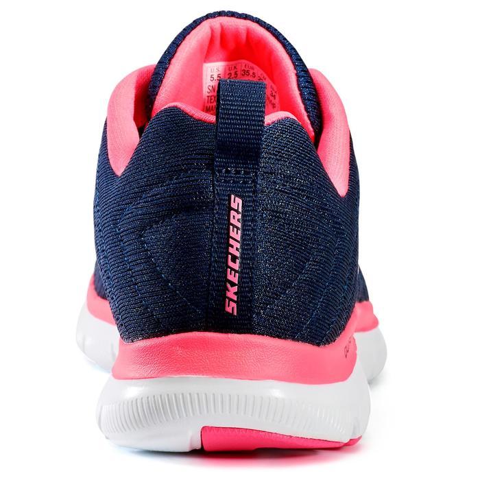 Chaussures marche sportive femme Flex Appeal bleu / rose