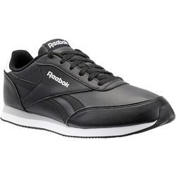 Herensneakers voor sportief wandelen Royal Classic zwart
