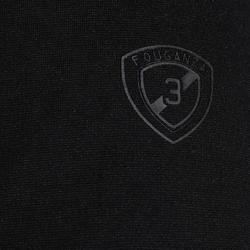 Wedstrijdjasje Paddock voor heren ruitersport zwart en grijs - 172896