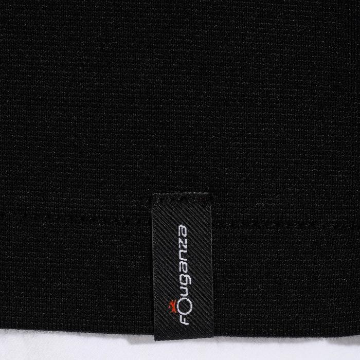 Veste de Concours équitation homme COMP100 noir et manches grises - 172899