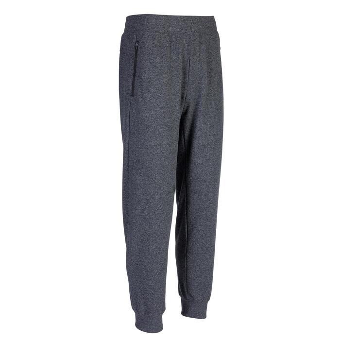 Pantalon de jogging homme 500 gris foncé chiné