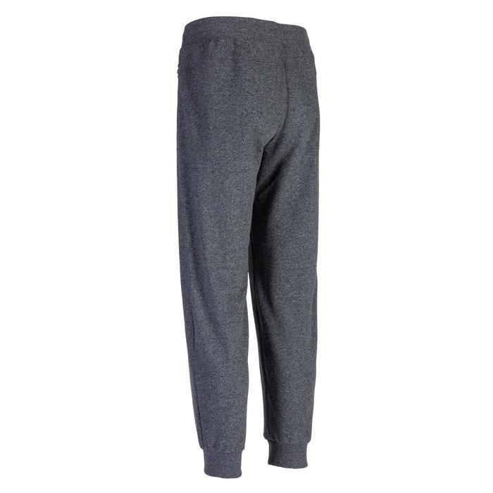 Men's Jogging Bottoms 500 - Mottled Dark Grey