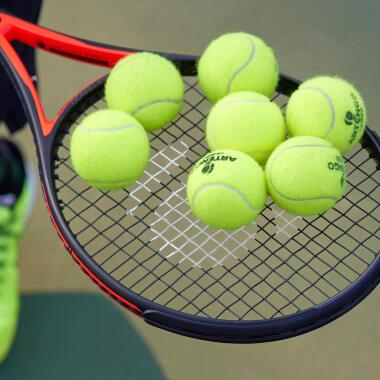 Welche Tennisbälle für Anfänger?