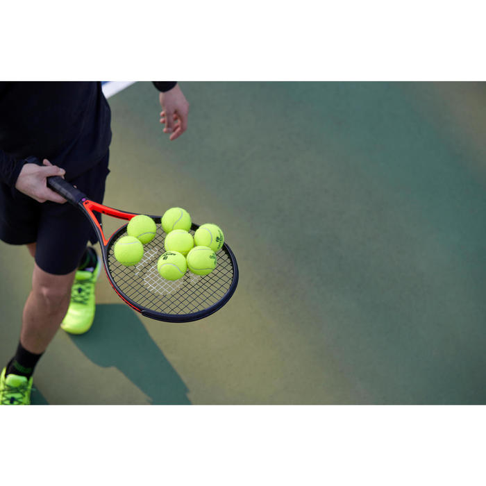 Tennisbälle Competition TB 920 Bipack 4er-Dose gelb
