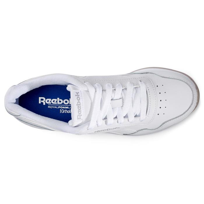 Damessneakers voor sportief wandelen Royal Glide wit