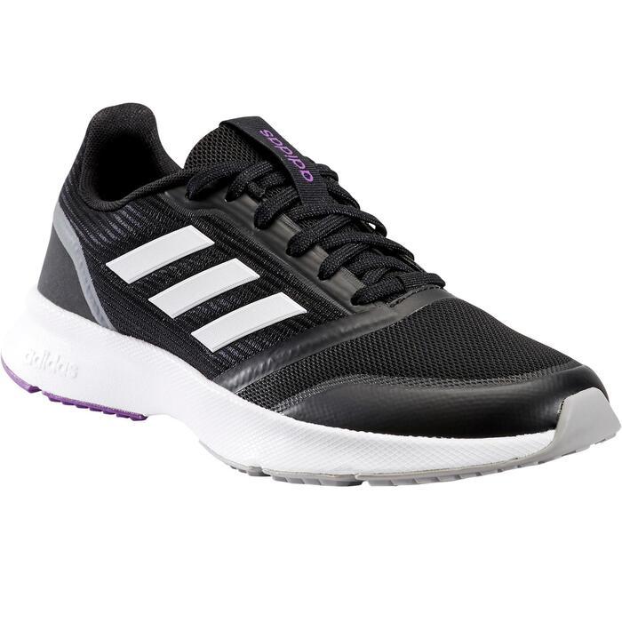 Chaussures marche sportive femme Adidas Nova Flow noir
