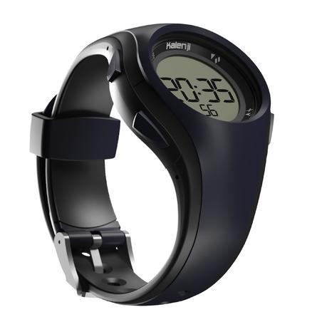 Montre chronomètre de course à piedW200M bleue