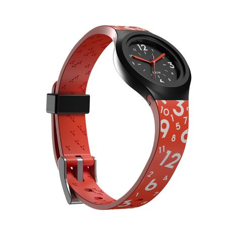 A300S Sports Watch With Hands Red – Kids