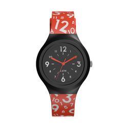 兒童款指針式運動腕錶A300S - 紅色