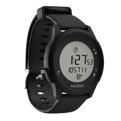 Montre chronomètre de course à pied ATW100 noire