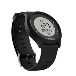 Hardloophorloge met stopwatch ATW100 zwart