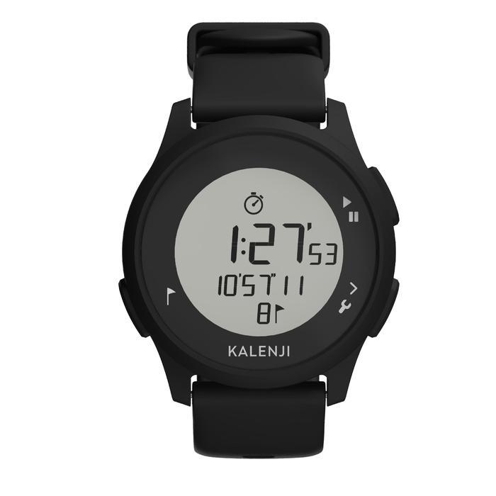 Đồng hồ thể thao kỹ thuật số ATW100 - Đen