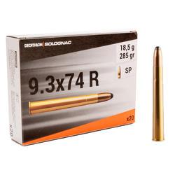 Balle 9,3X74R 18,5G/285GRS X20