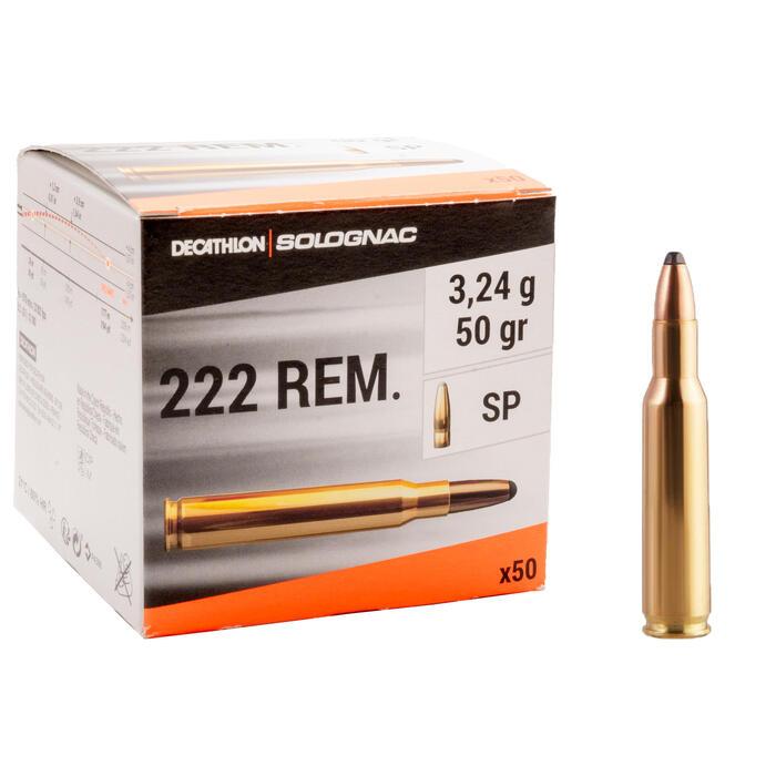 Bala 222 REMINGTON 3,24 g/50 gr. x50