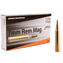 Balle 7mm REMINGTON MAGNUM 11,2g/173gr X20