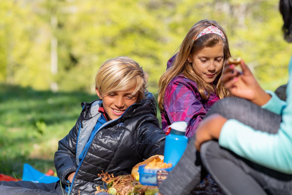 6 easy outdoor recipes to make with your children